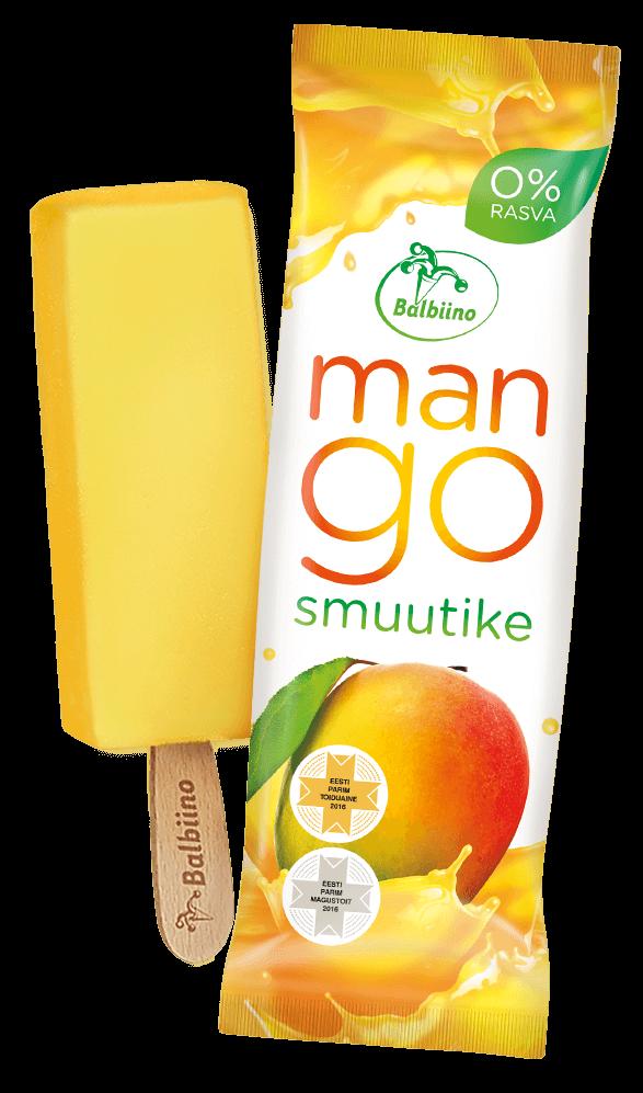 Smuutike Mango sorbet