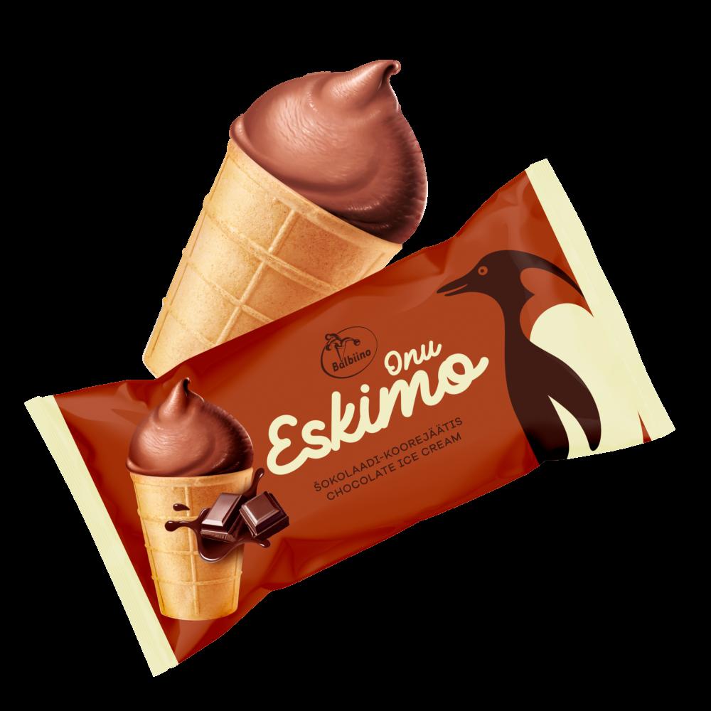 Onu Eskimo šokolaadijäätis