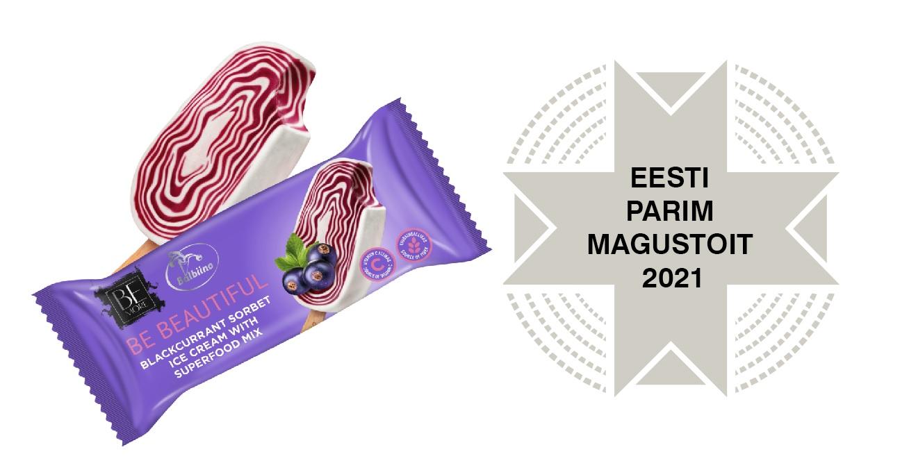 Eesti parim magustoit 2021 Balbiino jäätis
